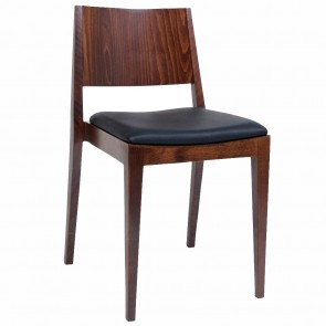 Starr Solid Wood Sustainable Timber Upholstered Dining Chair