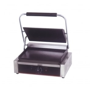 TCG-811CKW FED Electric Contact Grill Single Top grooved and flat Bottom 1.8KW - TCG-811CKW