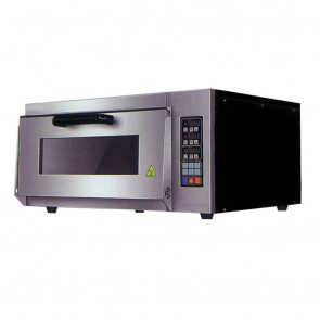 TEP-1AKW FED Electric Pizza Oven Single Layer Deck Computer Version - TEP-1AKW