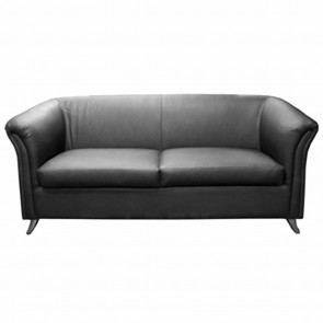 The Serie 2 Seater Black Designer Lounge