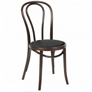 No 18 Bentwood Chair with Padded Seat