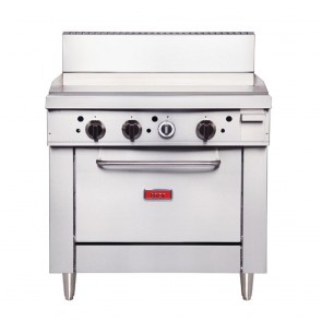 Thor 36in Freestanding Oven Range With Griddle Natural Gas GE544-N