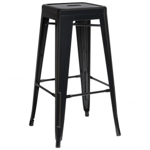 Tolix Industrial Bar Stool