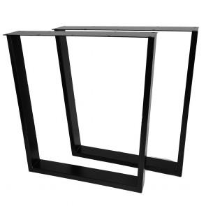 Trapezoid Steel Table Legs Set of 2