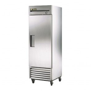 True Upright Freezer Stainless Steel