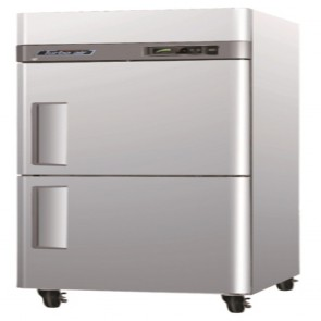 Austune Turbo Air 2 Half Door Foodservice Upright Freezer CM3F24-2