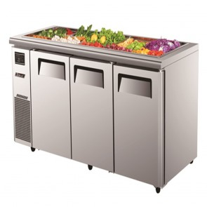Austune Turbo Air 3 Door Salad Prep Table-Buffet KSR18-3