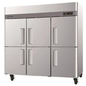 Austune Turbo Air 6 Half Door Foodservice Upright Freezer CM3F72-6
