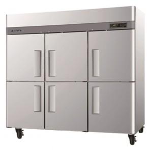 Turbo Air 6 Half Door Foodservice Upright Fridge CM3R72-6