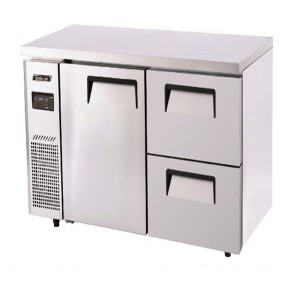 Austune Turbo Air Freezer 2 Drawers 1 Door 1500 KUF15-2D-2