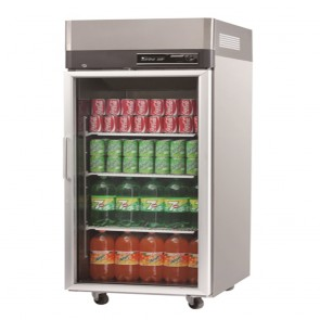 Austune Turbo Air Stainless Steel Upright Display Fridge 1 Door KR25-1G