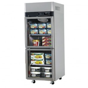Austune Turbo Air Stainless Steel Upright Freezer 2 Half Doors KF25-2G