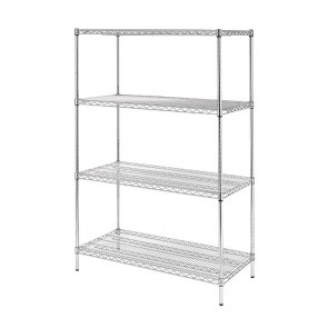 U257 Vogue Flat Pack 4 Shelf Unit - 61x122cm