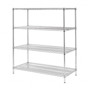 U259 Vogue Flat Pack 4 Shelf Unit - 610x1830mm