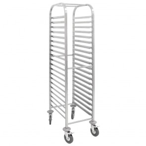 U376 Vogue Gastronorm 1/1 Racking Trolley