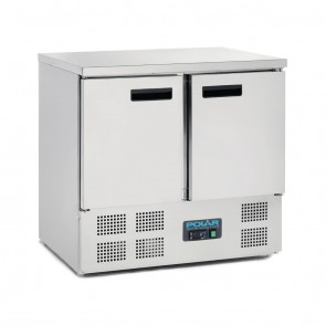 U636-A Polar G-Series Double Door Counter Fridge 240 Litre