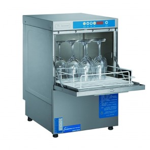 UCD-400-NSW276 FED Ex-Showroom: Axwood Underbench Glass washer With auto drain pump & detergent pump - UCD-400