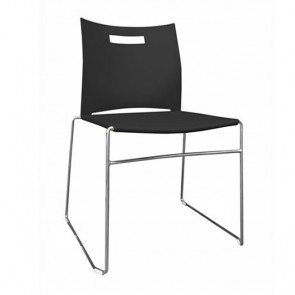 Julia Stackable Visitor Sled Base Chair