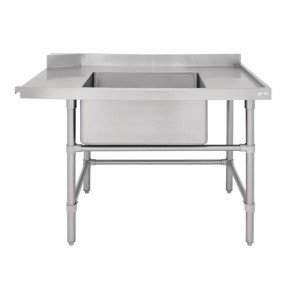 Vogue Dishwasher Inlet Table with Sink R 1800mm