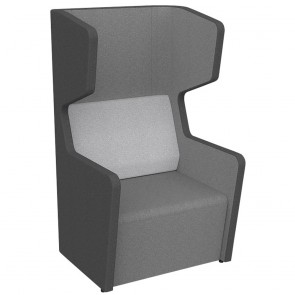 Wave Acoustic Work Pod 1 Seater Quiet Lounge