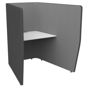 Wave Break Acoustic Office Work Pod