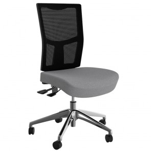 Wave Custom Mesh Back Office Chair Alloy Base
