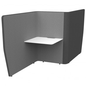 Wave Flow Acoustic Office Work Desk