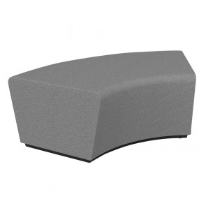 Wave Loop 60° Curved Ottoman