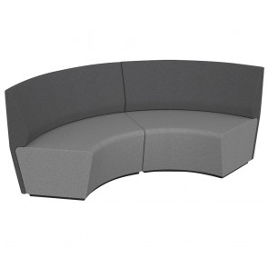 Wave Form Straight Back Soft Seating