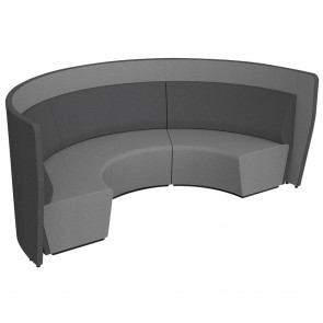 Wave Round Collaboration Seating Low Wall