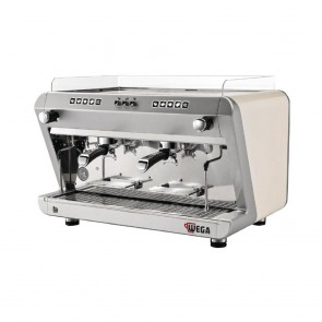 Wega IO Evd 2 Group Coffee Machine White EVD210