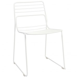 Wire Chair Outdoor Steel Stackable