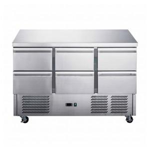 XGNS1300B FED-X Compact Workbench Fridge - XGNS1300B