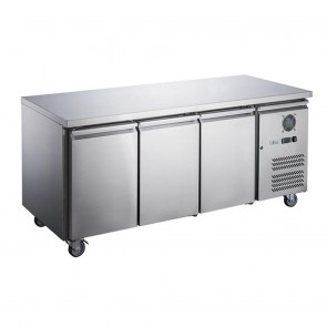 XUB7F13S2V FED-X S/S Two Door Bench Freezer - XUB7F13S2V