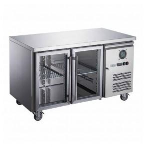 XUB7F18S3V FED-X S/S Three Door Bench Freezer - XUB7F18S3V