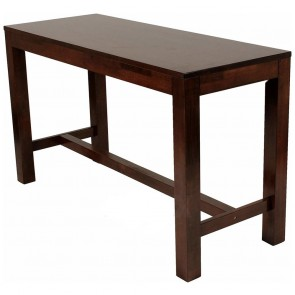 Commercial Bar Height Counter Table Solid Wood