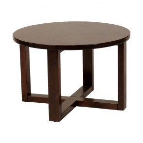 Esta Handmade Round Wood Coffee Table 70cm