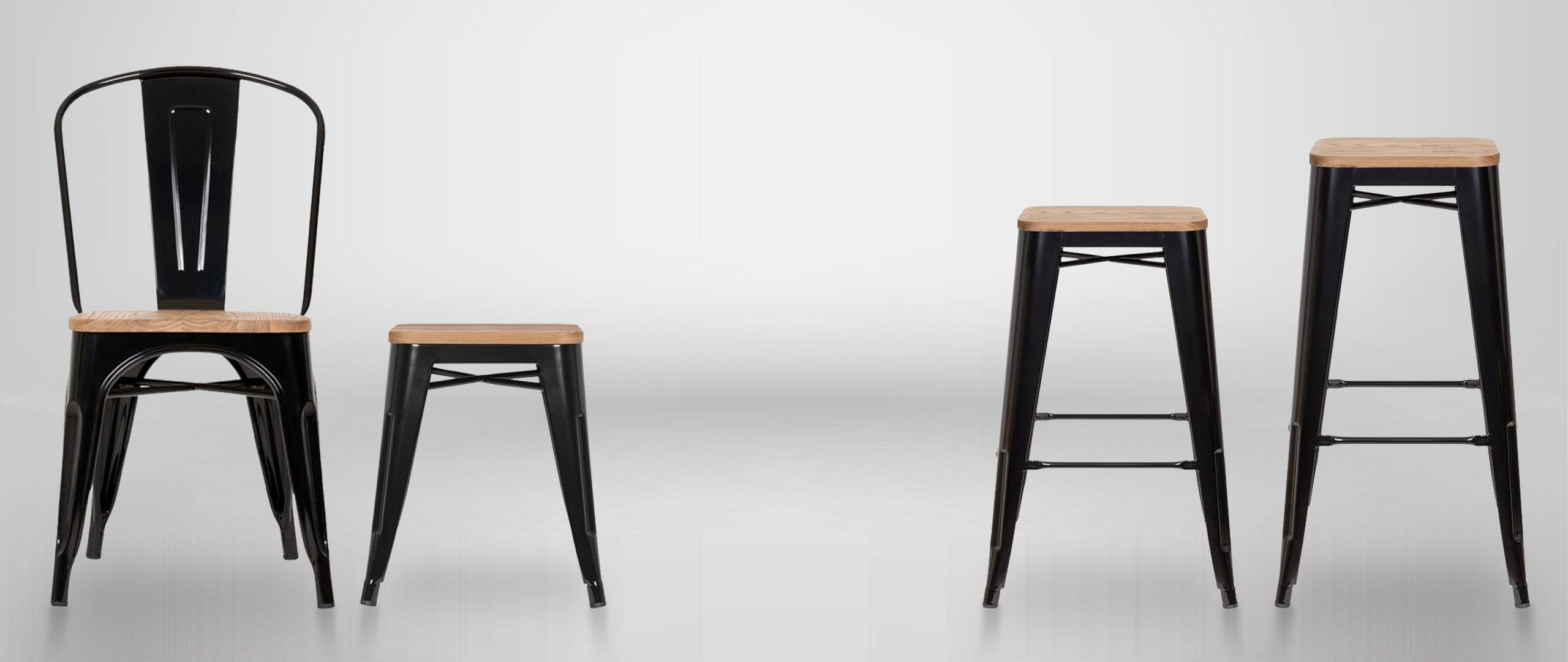 Tolix Chairs & Stools