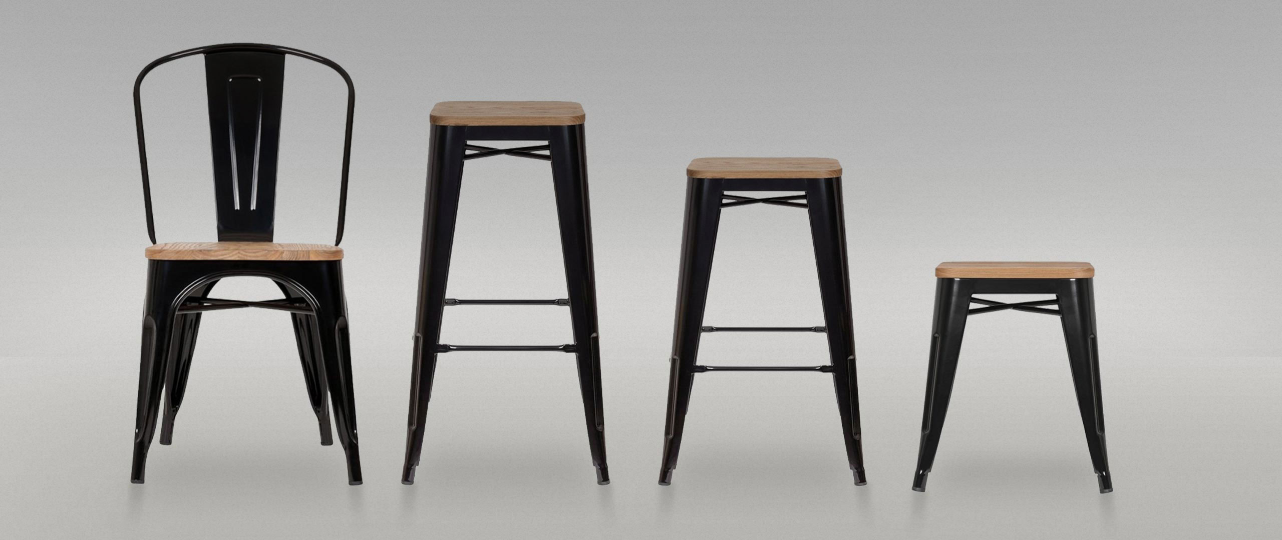 Tolix Chairs & Stools